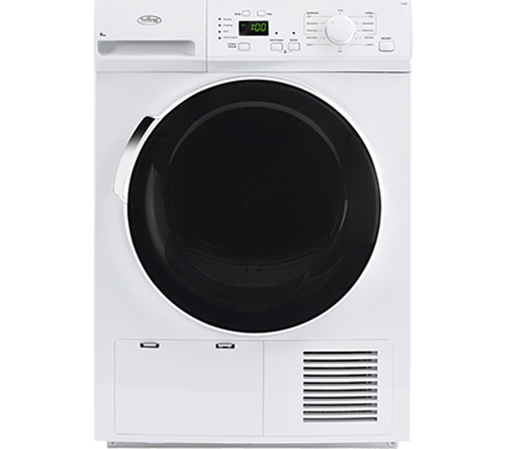 BELLING Bel FCD800 Whi Condenser Tumble Dryer - White