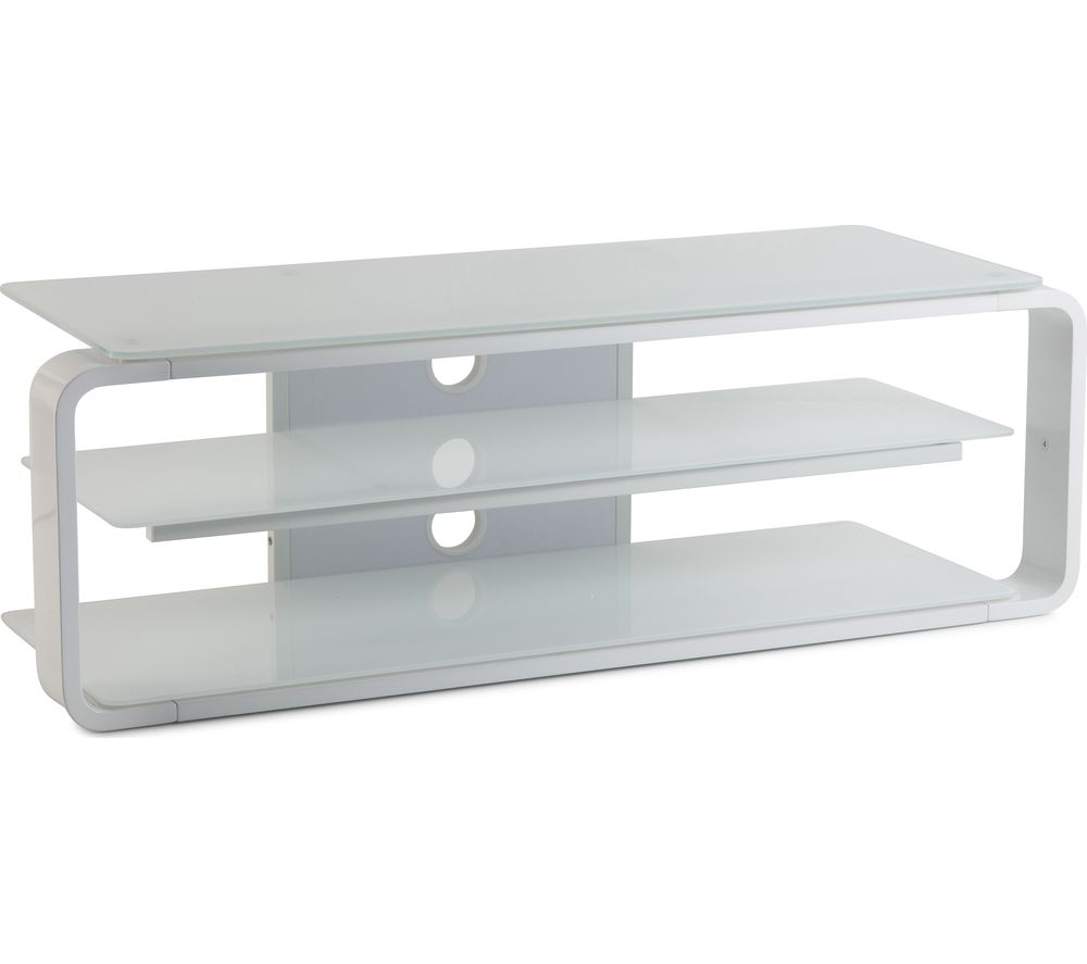 ALPHASON Lithium 1150 TV Stand - White