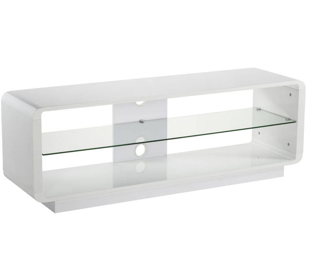 ALPHASON Luna 1400 TV Stand - White
