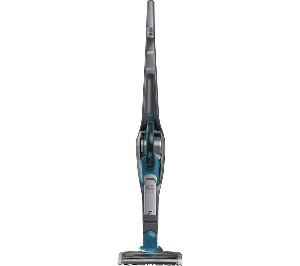 BLACK + DECKER SVJ520BFS-GB Cordless Vacuum Cleaner - Titanium & Deep Blue Ocean