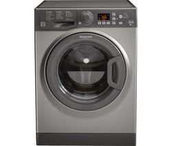 HOTPOINT Aquarius FDF 9640 G 9 kg Washer Dryer - Graphite