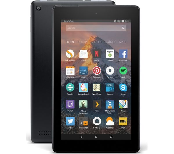 Image of AMAZON Fire 7 Tablet with Alexa (2017) - 8 GB, Black