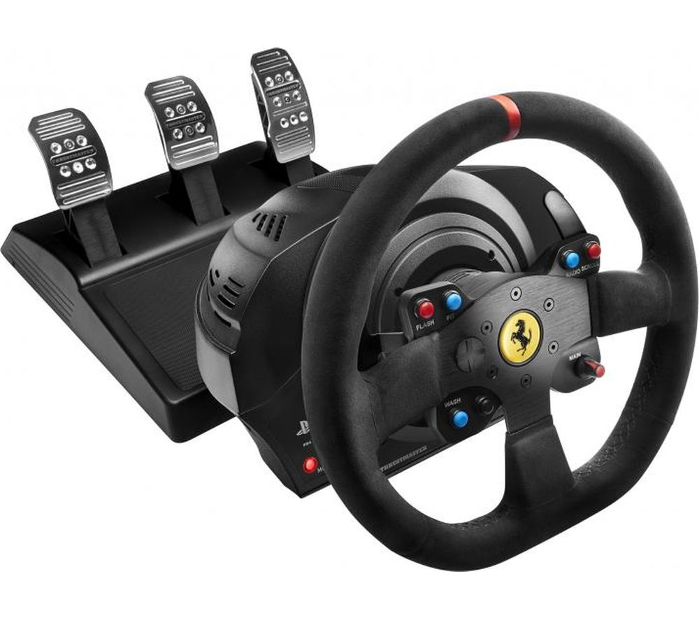 Compare prices for Thrustmaster T300 Ferrari Integral RW Alcantara Racing Wheel