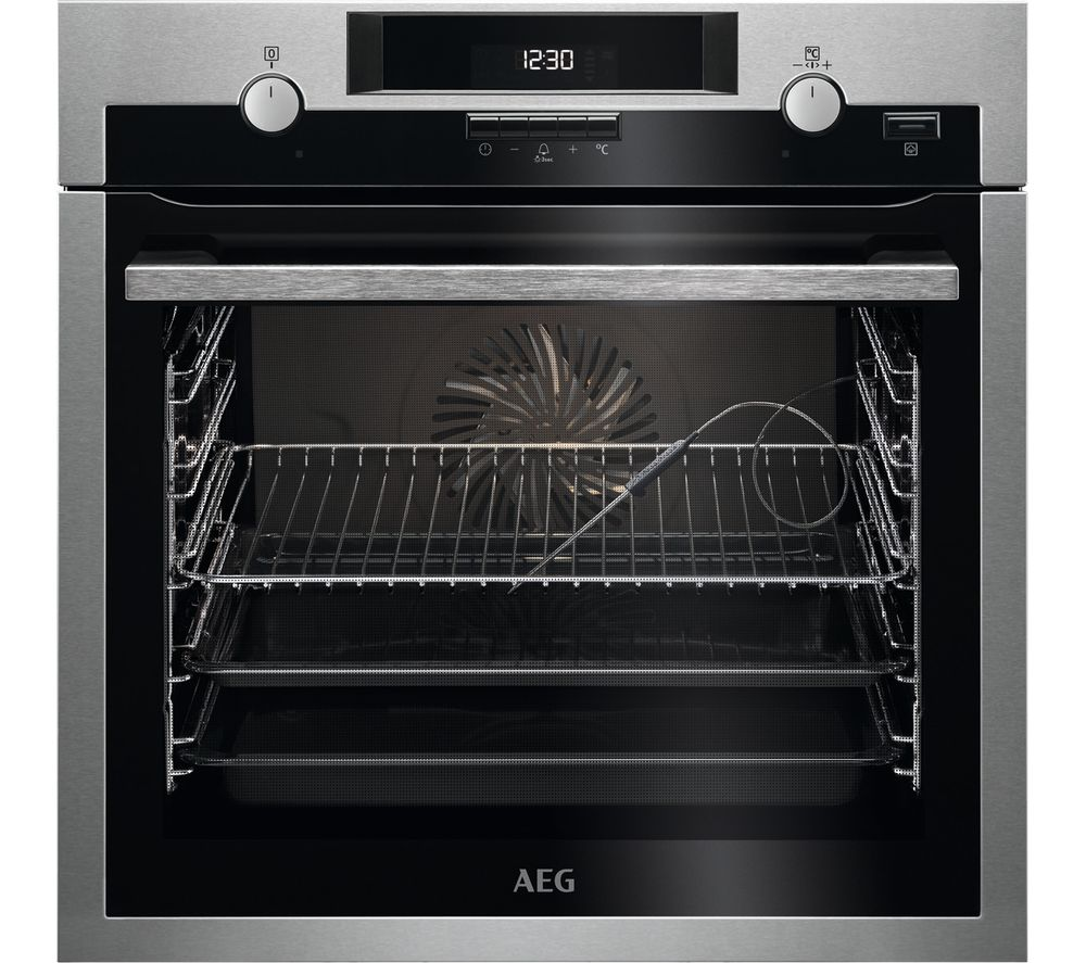 AEG BCS552020M Electric Oven - Stainless Steel, Stainless Steel