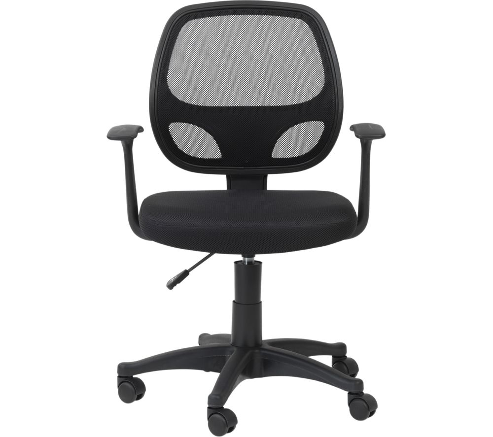 ALPHASON Davis Mesh Operator Chair - Black