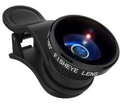 Real Pro Fisheye Clip-on Smartphone Lens