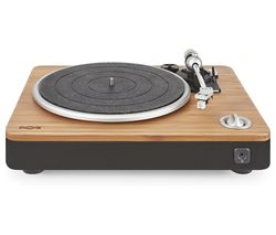 HOUSE OF MARLEY Stir It Up Belt Drive Turntable - Bamboo & Black