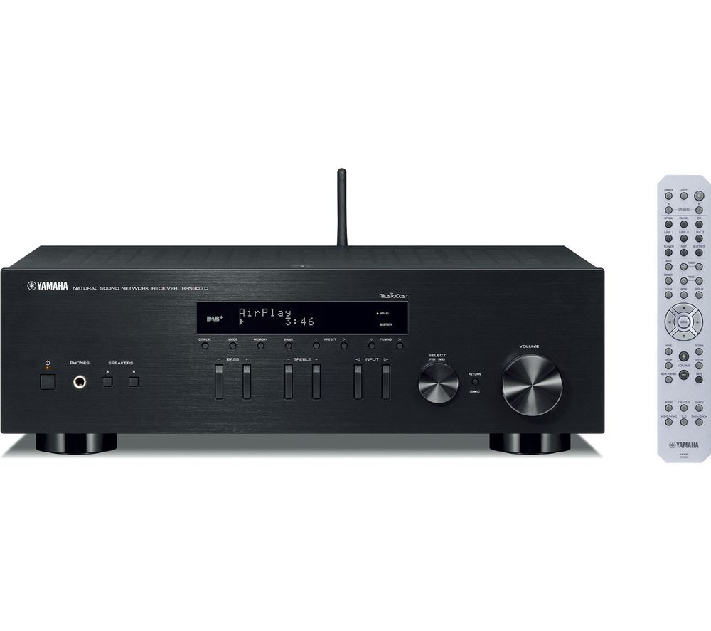 Buy yamaha rn303d av receiver free delivery currys for Yamaha audio customer service