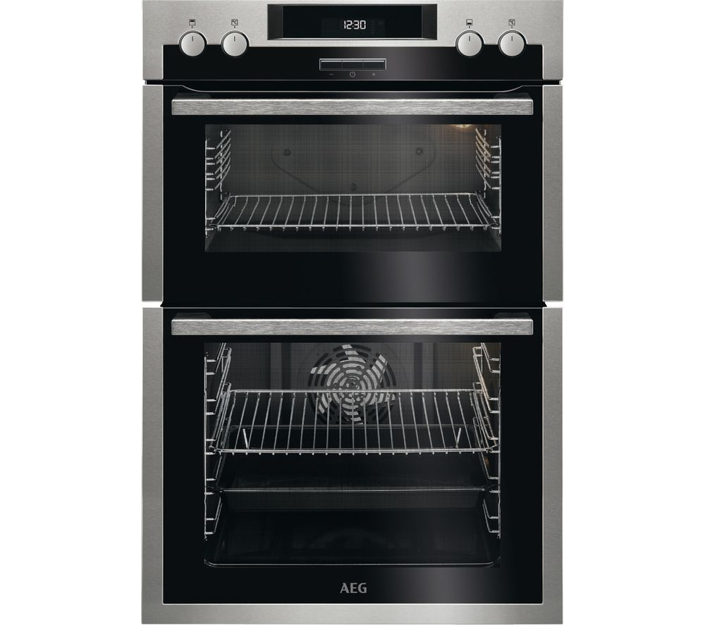 Compare prices for AEG DCS431110M Electric Double Oven
