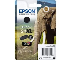 EPSON Elephant 24XL Black Ink Cartridge