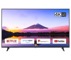 "JVC LT-65C880 65"" Smart 4K Ultra HD HDR LED TV"