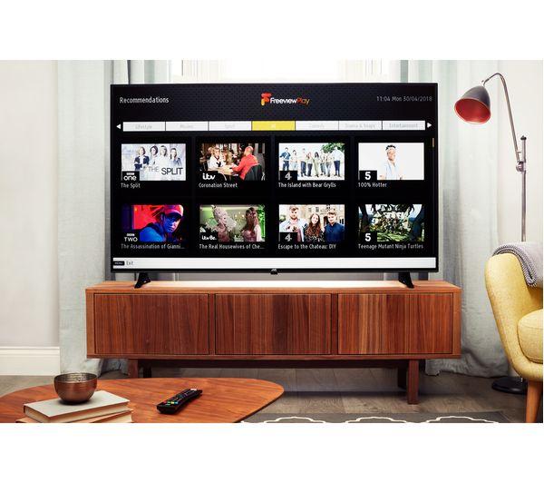 """JVC LT-65C880 65"""" Smart 4K Ultra HD HDR LED TV Fast"""
