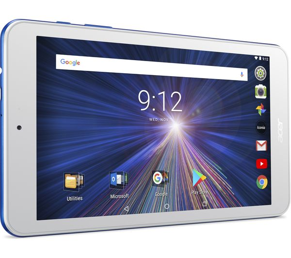 """Image of ACER Iconia One B1-870 8"""" Tablet - 16 GB, Blue"""