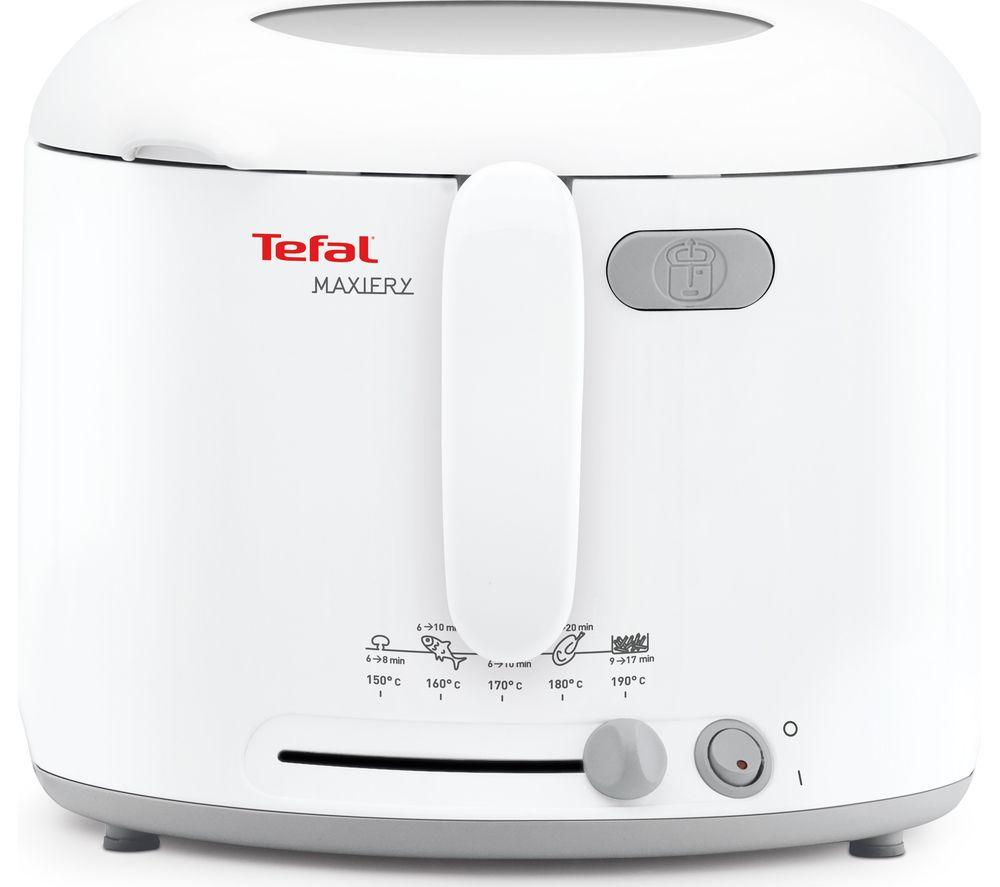 TEFAL MaxiFry FF123140 Deep Fryer - White, White