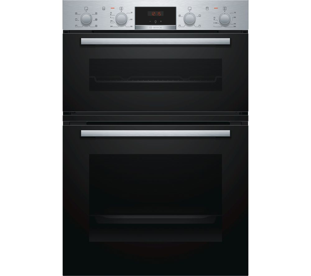 BOSCH Serie 2 MBS133BR0B Electric Double Oven - Stainless Steel