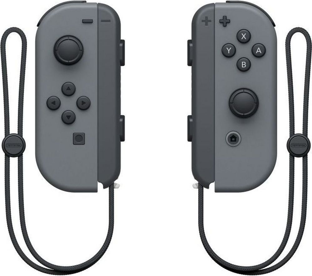 NINTENDO Switch Joy-Con Wireless Controllers - Grey, Grey