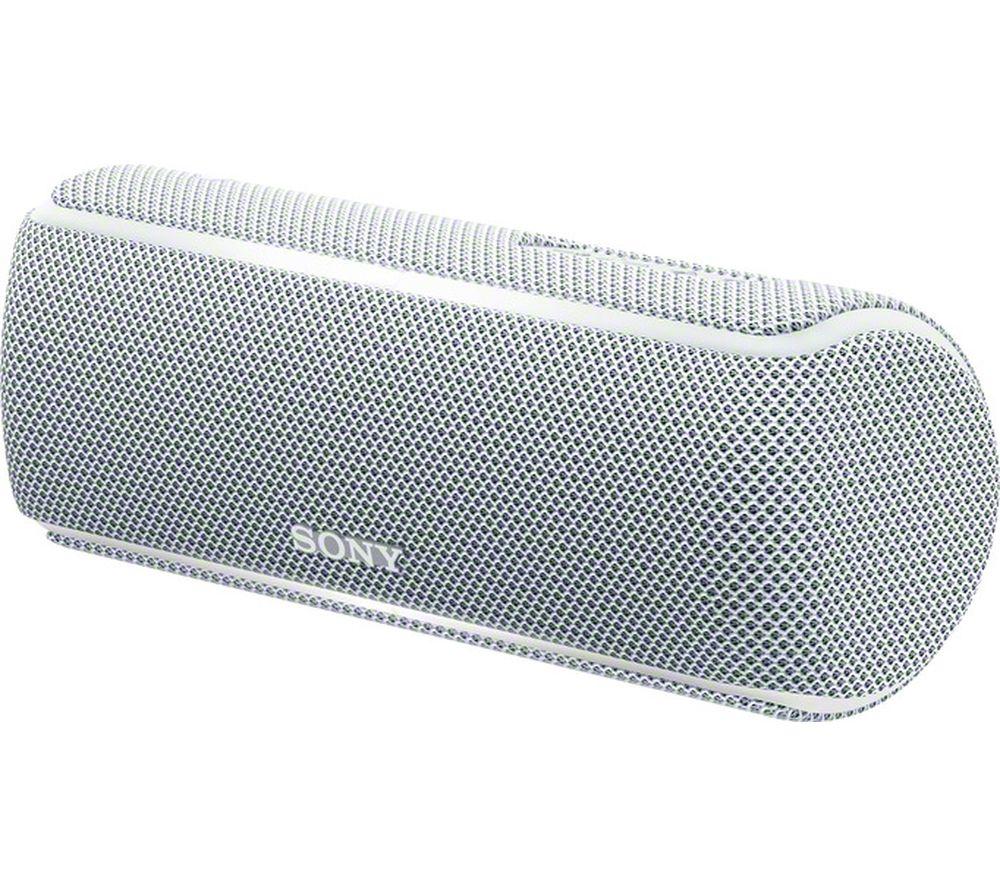 SONY SRS-XB21 Portable Bluetooth Wireless Speaker - White
