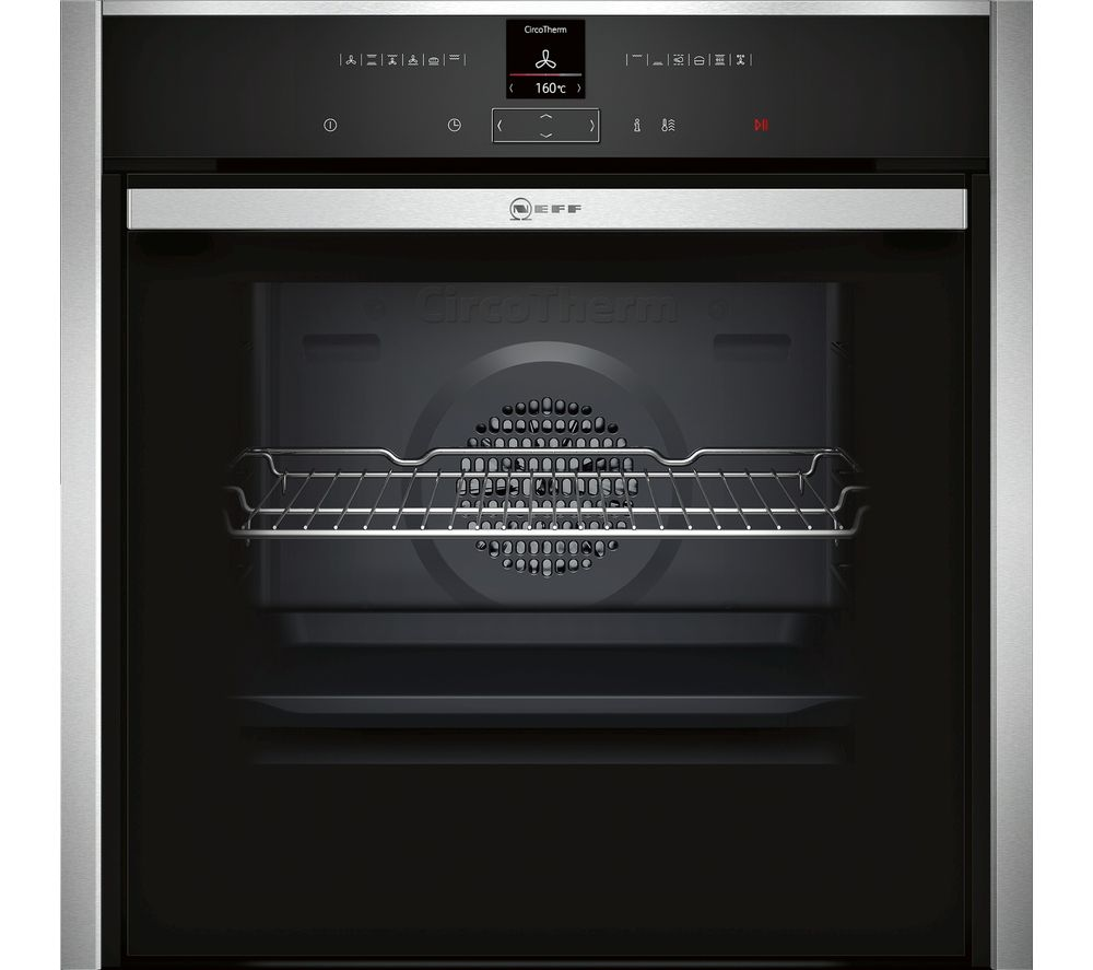 NEFF B47CR32N1B Electric Oven - Stainless Steel, Stainless Steel