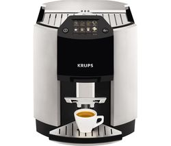KRUPS Espresso EA9010 Bean to Cup Coffee Machine – Black & Silver