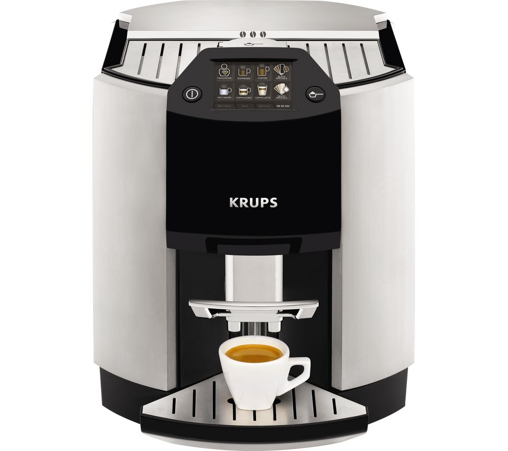 buy krups espresso ea9010 bean to cup coffee machine. Black Bedroom Furniture Sets. Home Design Ideas