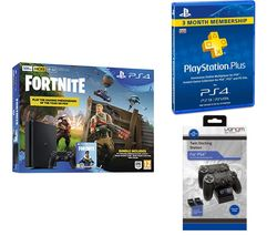 SONY PlayStation 4 Slim with Fortnite Battle Royale