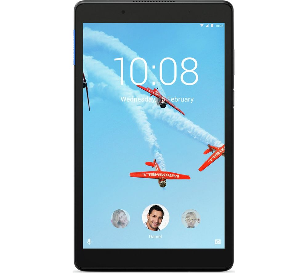 LENOVO Tab E8 Tablet - 16 GB, Black