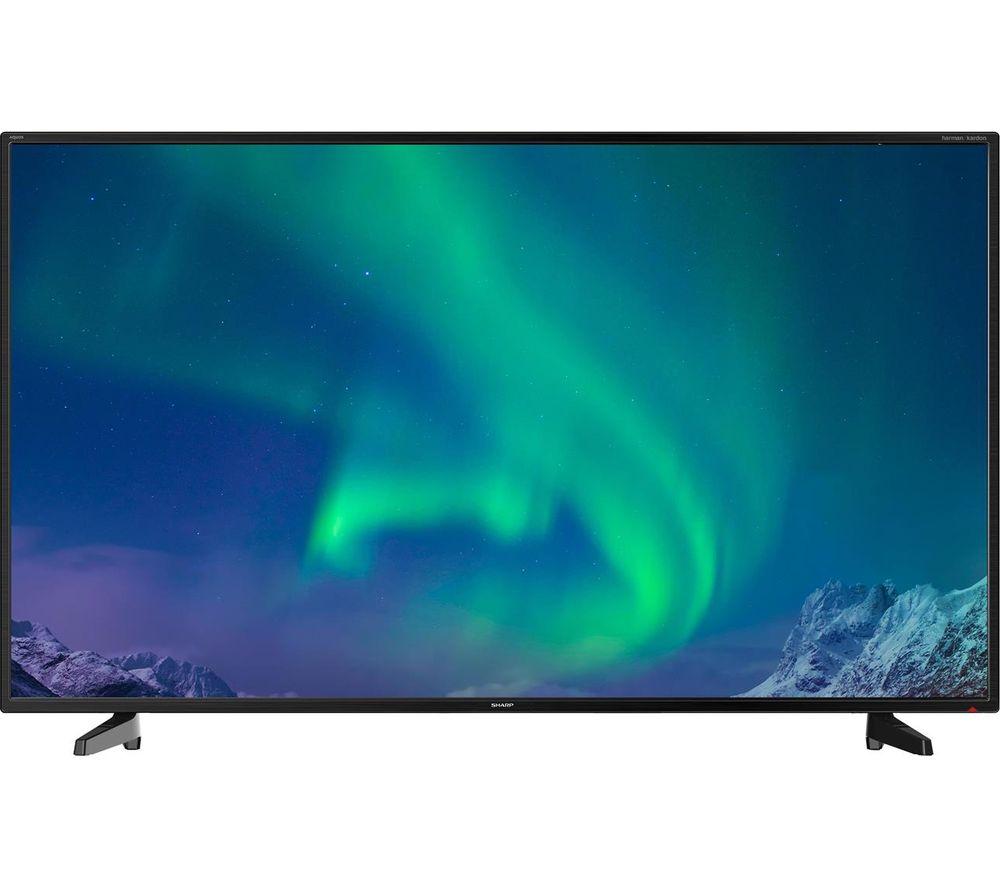 """40"""" Sharp LC-40FI3221K  LED TV, Gold"""