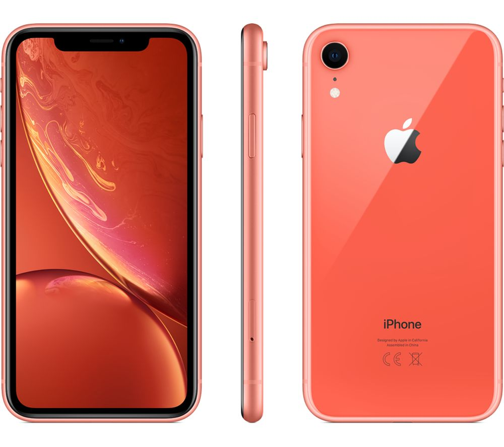 APPLE iPhone XR - 64 GB, Coral