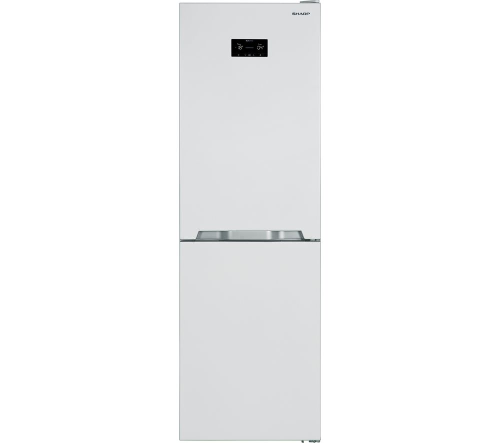 SHARP SJ-BA33IHXW2 50/50 Fridge Freezer - White