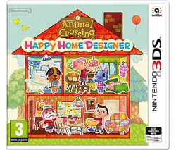 NINTENDO 3DS Animal Crossing: Happy Home Designer