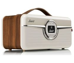 VQ Susie-Q Portable DAB+ Smart Bluetooth Radio - Walnut