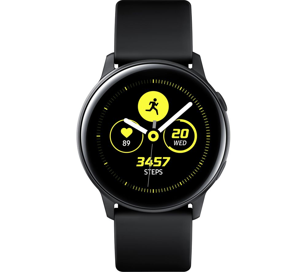 b900263bb Buy SAMSUNG Galaxy Watch Active - Black | Free Delivery | Currys