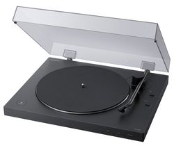 PS-LX310BT Belt Drive Bluetooth Turntable - Black