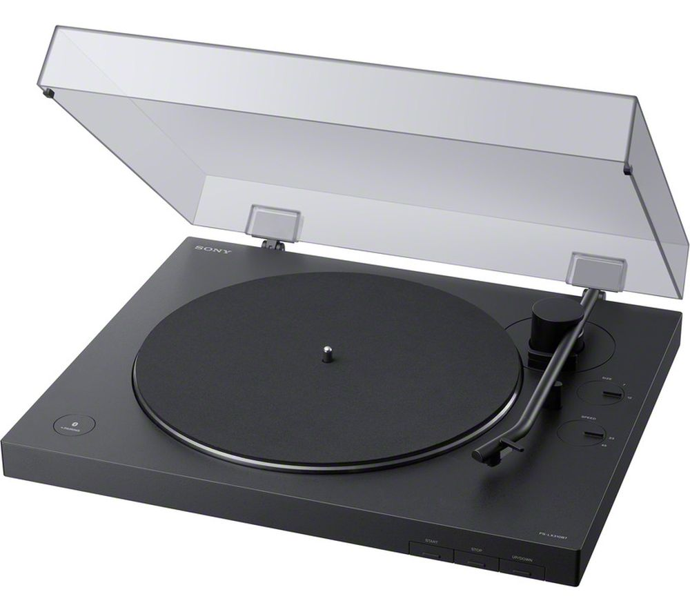 SONY PS-LX310BT Belt Drive Bluetooth Turntable - Black