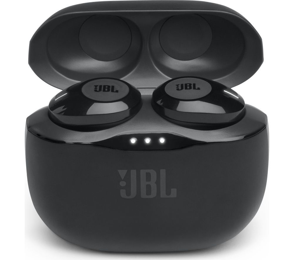 JBL Tune 120TWS Wireless Bluetooth Earphones - Black