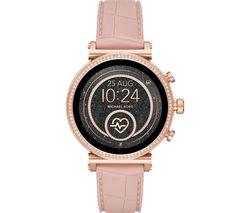 MICHAEL KORS Access Sofie Heart Rate MKT5068 Smartwatch - Rose Gold & Pink