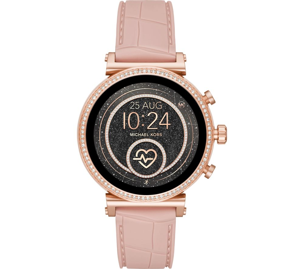 MICHAEL KORS Access Sofie Heart Rate MKT5068 Smartwatch - Rose Gold & Pink