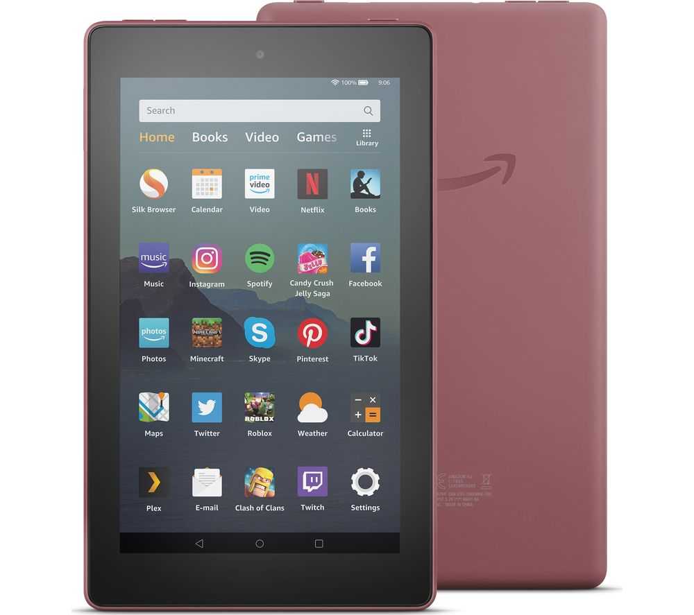 Image of AMAZON Fire 7 Tablet with Alexa (2019) - 32 GB, Plum, Plum