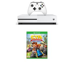 MICROSOFT Xbox One S with Crash Team Racing - Nitro Fuelled - 1 TB