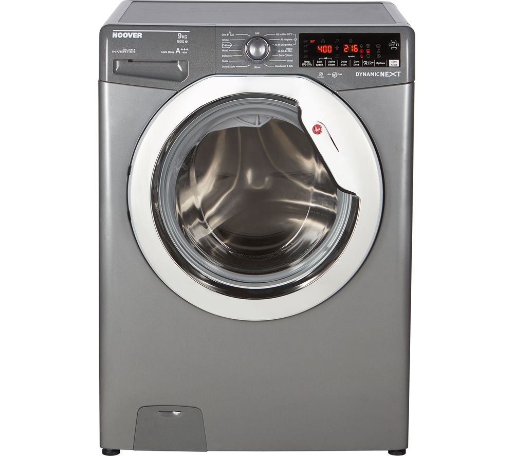 Dynamic DWOAD69AHC7 WiFi-enabled 9 kg 1600 Spin Washing Machine - Graphite, Graphite