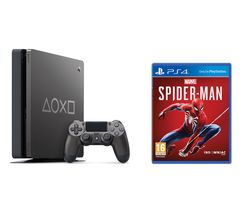 SONY PlayStation 4: Days of Play Edition & Marvel's Spider-Man Bundle - 1 TB