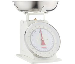Living Mechanical Kitchen Scales - Cream