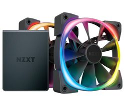 Aer RGB 2 Dual Fan Pack with HUE 2 Controller - 120 mm