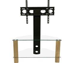 Century 800 mm TV Stand with Bracket - Light Oak