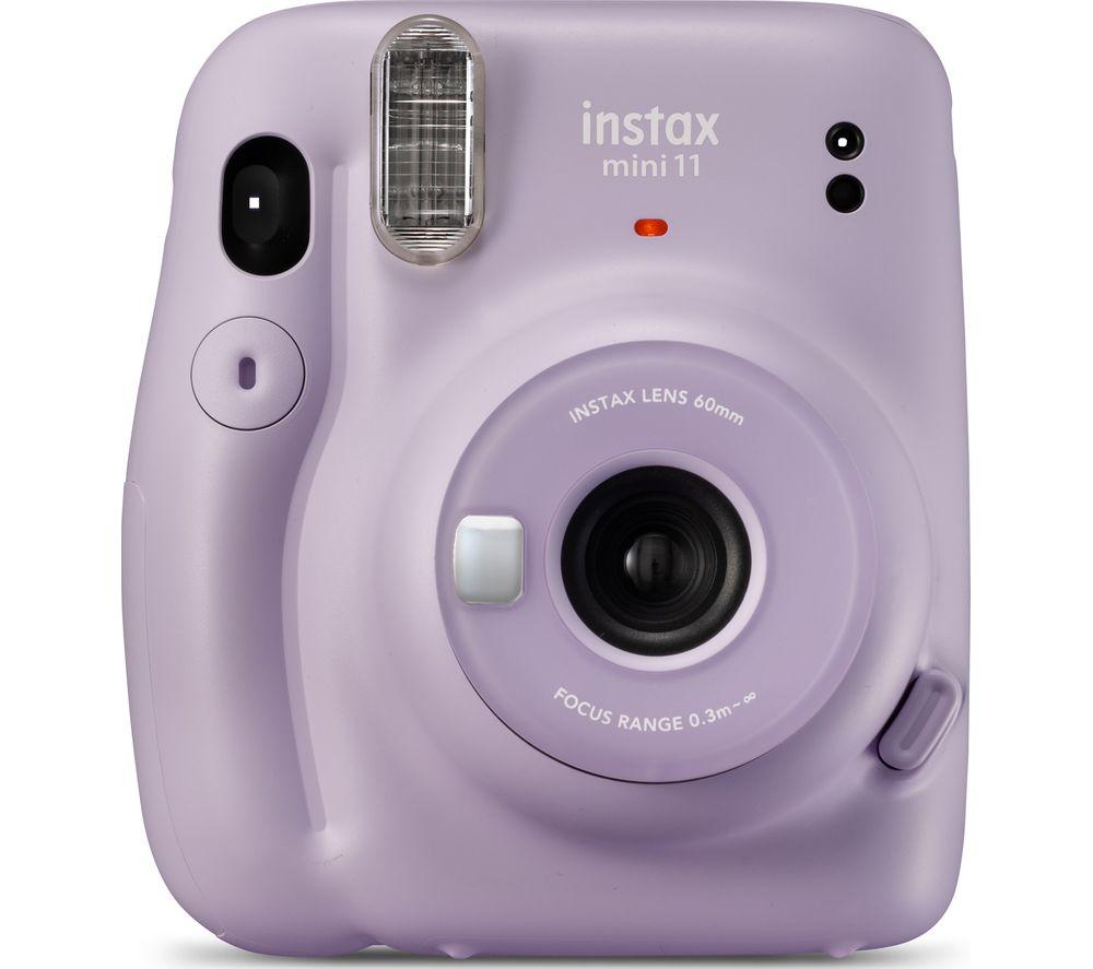 INSTAX mini 11 Instant Camera - Lilac Purple