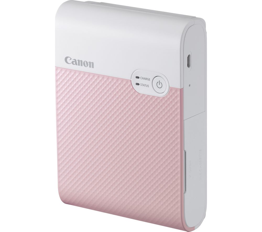 CANON SELPHY Square QX10 Photo Printer - Pink, Pink