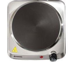 SDA1731 Single Electric Hot Plate - Silver