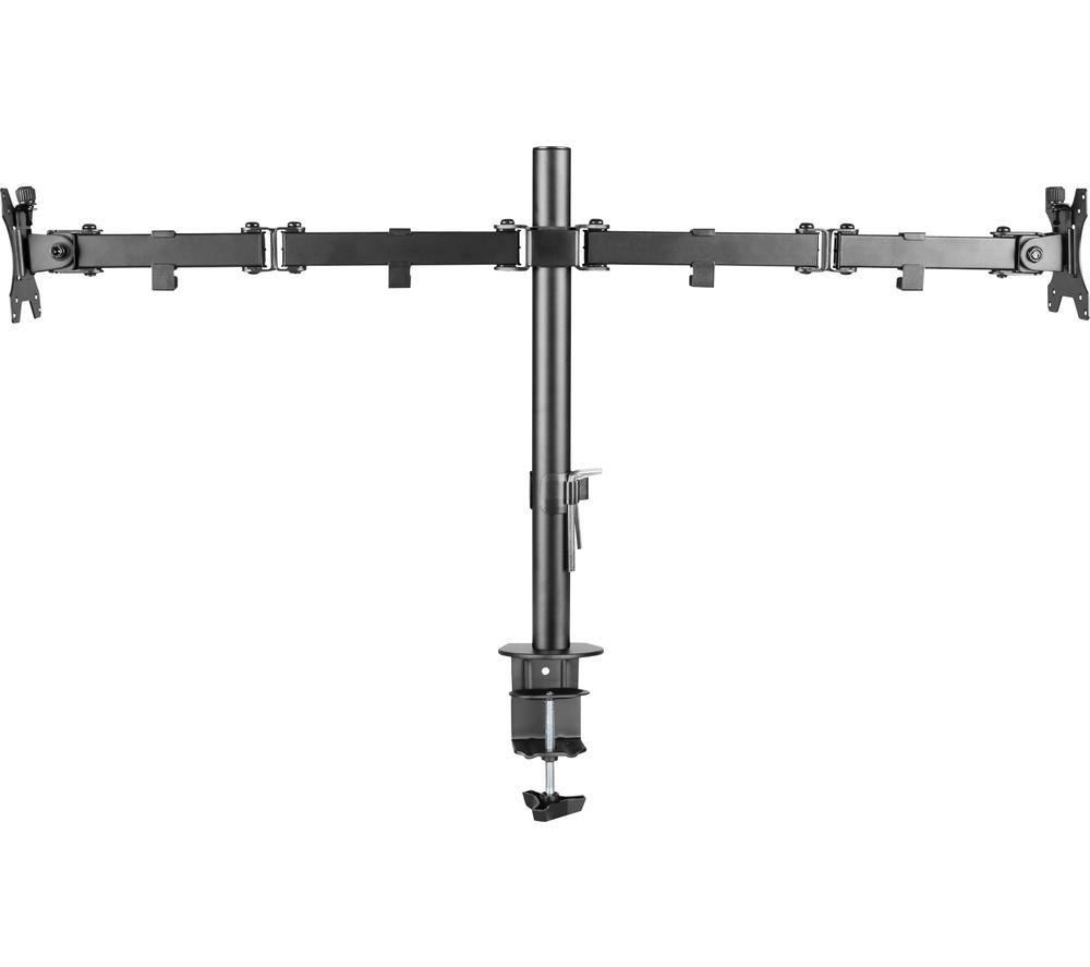 Image of TTAP TTD101-M2 Dual Monitor Stand - Black, Black