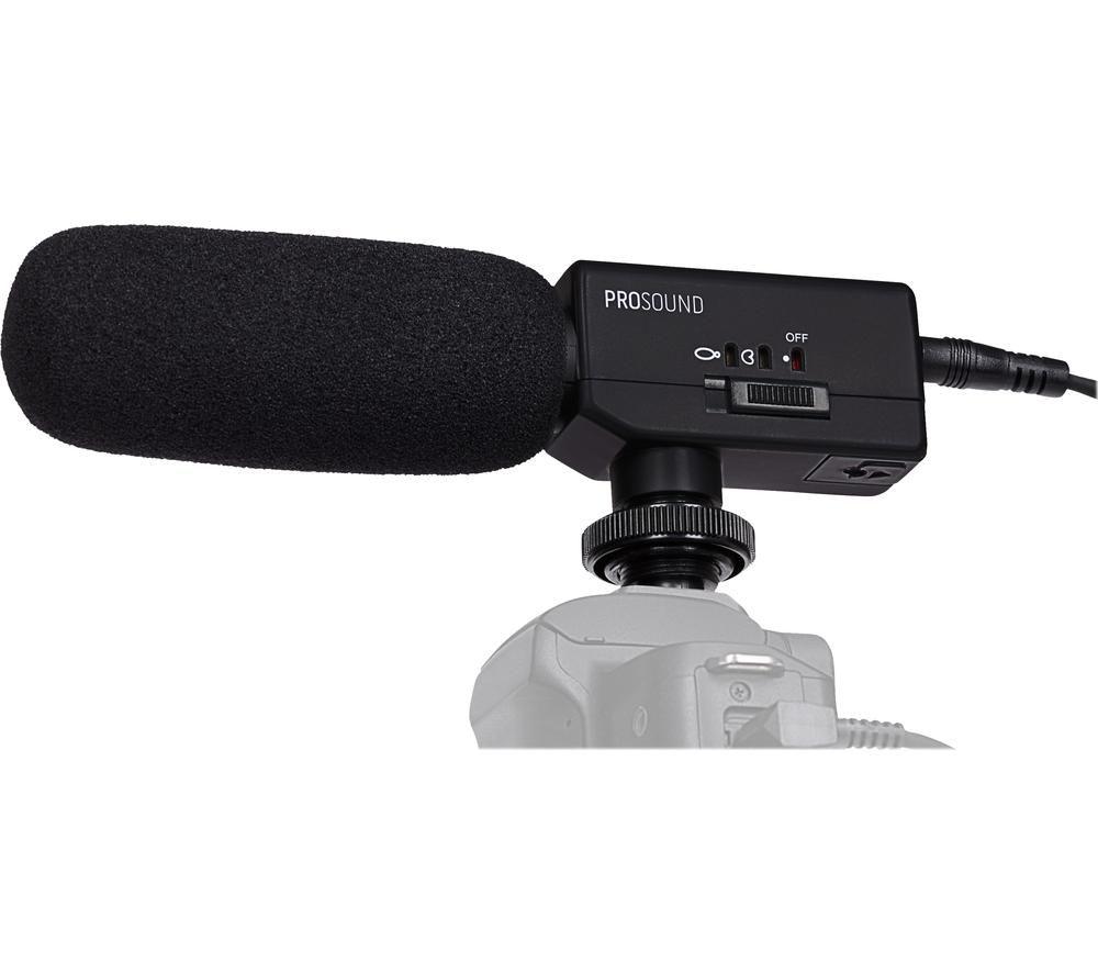 PROSOUND BV57 Super Cardioid Electret Condenser Zoom Video Microphone