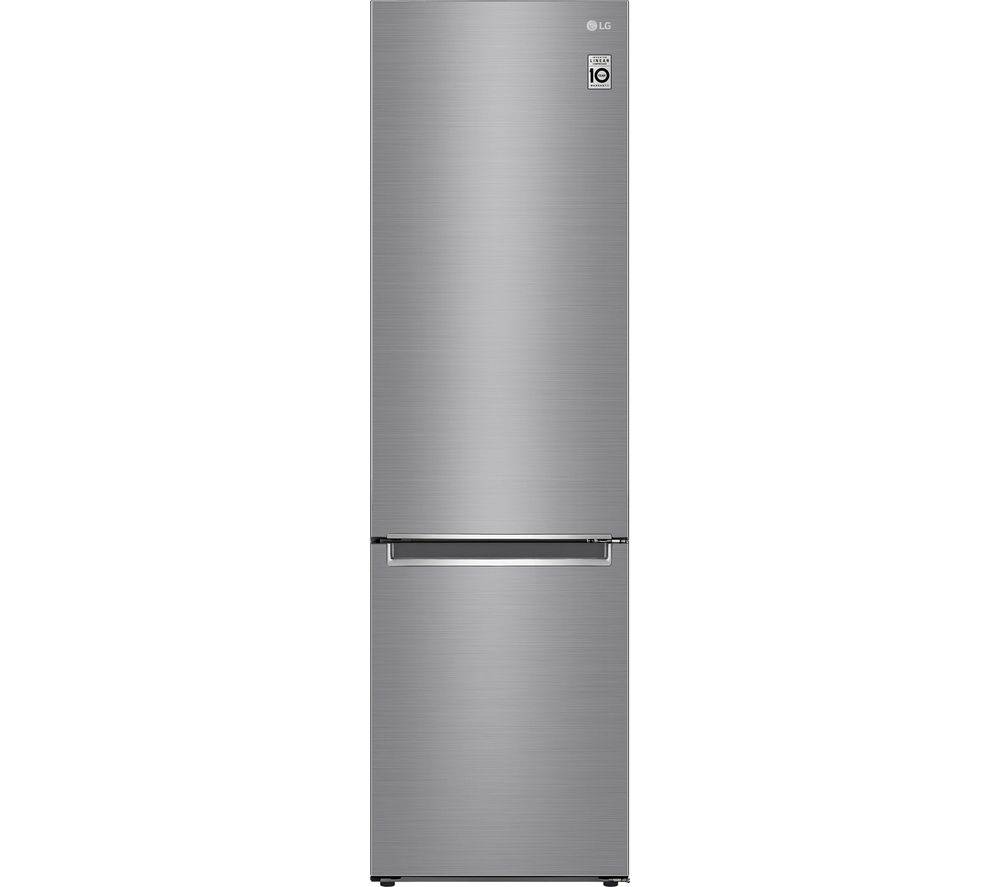 LG DoorCooling GBD62PZYFN 70/30 Fridge Freezer - Shiny Steel